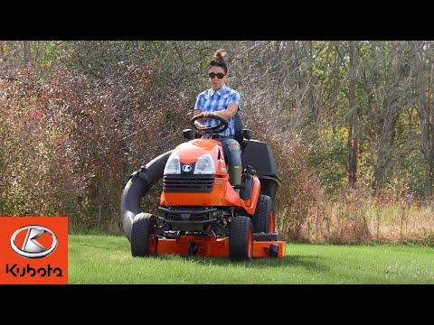 The New Kubota T series mower: Built Dependably. Ridden Comfortably. Designed for More.