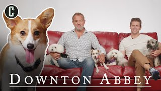 Corgi Interviews Downton Abbey's Hugh Bonneville & Allen Leech