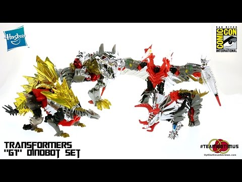 video review - Video Review of the 2014 SDCC Exclusive: G1 Dinobot set GET ALL YOUR TRANSFORMERS AT BBTS!!! http://bit.ly/optibotimus_BBTS Check out MY WEBSITE: http://www.optibotimusreviews.com Follow...