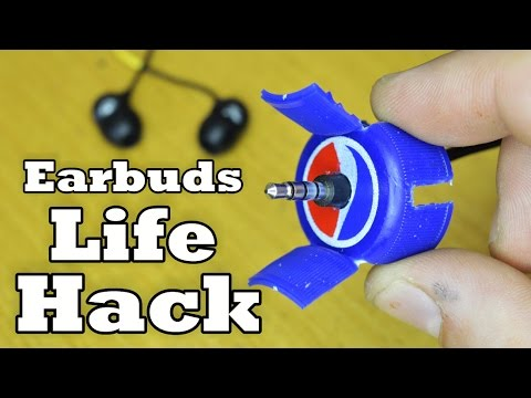 Video Never Tangle Earbuds LifeHack (made from pepsi cap) download in MP3, 3GP, MP4, WEBM, AVI, FLV January 2017