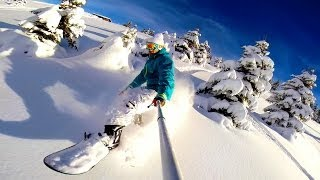 The Art of Ride - Snowboarding Off Piste Backcountry - DJI Phantom 2 GoPro Hero 3+