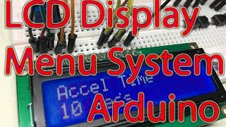 Your contributions made this content possible!https://www.patreon.com/EE_EnthusiastIn this tutorial we are using an LCD Display and building a menu system which allows the user to scroll through different parameters. This system is commonly used on hardware devices such as VFDs, microwaves, etc.We will be looking at the software which scrolls through 10 different items and allows the user to change that particular parameter for later use in their code.Written Tutorial & Software: http://eeenthusiast.com/arduino-lcd-tutorial-display-menu-system-scrolling-menu-changeable-variables-projects/Get in touch:Facebook: https://www.facebook.com/EEEnthusiastTwitter: https://twitter.com/EE_EnthusiastWebsite: http://eeenthusiast.comGitHub: https://github.com/VRomanov89Personal website: http://vladromanov.comSoftware:https://github.com/VRomanov89/EEEnthusiast/tree/master/03.%20Arduino%20Tutorials/02.%20LCDMenuTutorial/LCDMenuProgrammingRelevant Links:Arduino LCD Library: https://www.arduino.cc/en/Reference/LiquidCrystalRelevant Search Terms:EEEnthusiast, Vlad Romanov, Volodymyr Romanov, arduino lcd tutorial, arduino lcd display, arduino lcd display tutorial, arduino lcd menu tutorial, arduino lcd menu system, arduino lcd menu example, arduino lcd menu code, arduino lcd menu selection, arduino lcd screen tutorial, arduino lcd screen menu