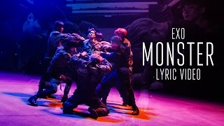 EXO (엑소) - MONSTER [LYRIC VIDEO] [HAN|ROM|ENG]