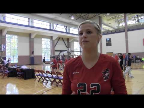 Postgame - Volleyball vs. Francis Marion