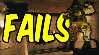 FAILS - Rainbow Six Siege Funny Moments & Epic Stuff