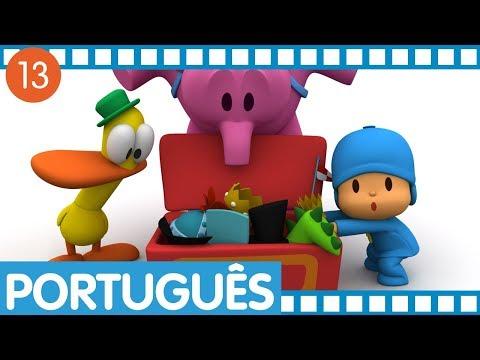 Pocoyo português Brasil - Pocoyo - Episódios completos em Português (Temporada 1 - Ep 49-52)