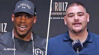 Anthony Joshua vs Andy Ruiz FULL FINAL PRESS CONFERENCE | Matchroom Boxing USA