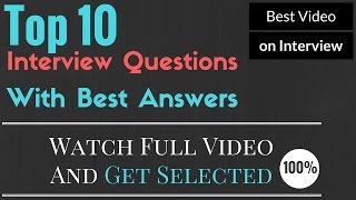 Top 10 Job Interview Questions and Answers | #FactGram