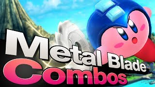 Metal Blade Combos AGAINST Megaman!