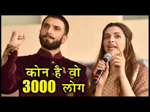 3000 Guest Invited For Deepika Padukone Ranveer Si