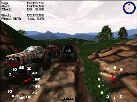 monster truck madness pc cheats