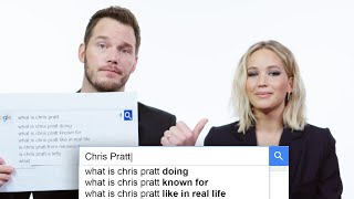 Video Jennifer Lawrence & Chris Pratt Answer the Web's Most Searched Questions | WIRED MP3, 3GP, MP4, WEBM, AVI, FLV Juli 2018