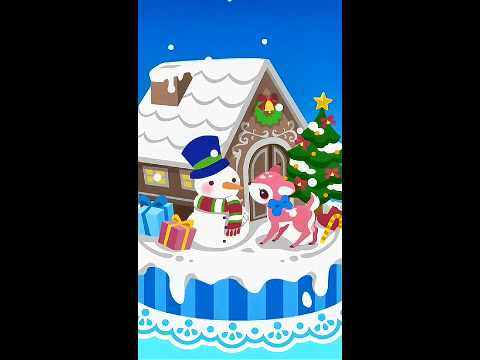 Video of snow dream♪cute christmas(FREE