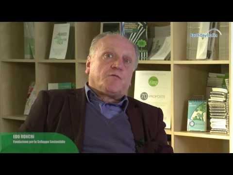 Maratona Web per la Terra 2013 - L'intervista ad Edo Ronchi - Earth Day Italia