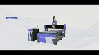 High efficiency auto tool changer wood cnc router machine for furniture processing 4×8 youtube video
