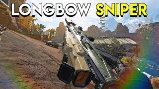 Longbow Sniper! - Apex Legends (Battle Royale)
