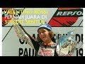 foto VIDEO!!Valentino Rossi balapan di sentul International Circuit (1997) juara pertama Borwap