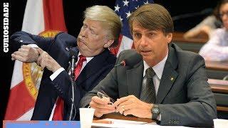 Os Relógios do Encontro de Donald Trump e Jair Bolsonaro