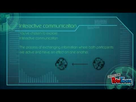 What is interactive communication?