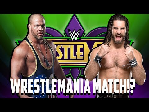 Seth Rollins vs. Kurt Angle At Wrestlemania 34!?