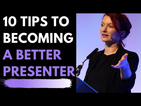 Presentation - Tips on how to improve your Presentation & Public Speaking skills & confidence. We have trained presenters all over the world for more than 40 years and unde...