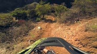 Santa Monica Enduro Mtb Samurai Trail   January 2015
