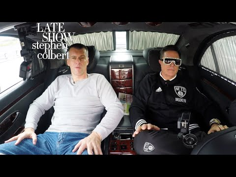Stephen Colbert Learns How to Be a Russian Oligarch From Russian Billionaire Mikhail