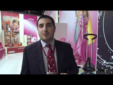 Dr. Wissam Al-Ahmar from KETTANEH - PHARMA S.A.R.L talks about the Prema by hauck Toys for Kids