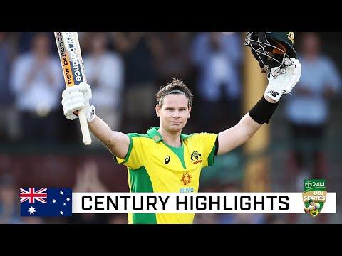 Smith clubs third fastest men's ODI ton by an Aussie | Dettol ODI Series 2020