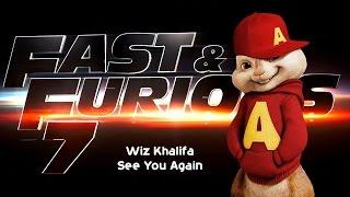 Video Wiz Khalifa - See You Again (Chipmunks Version) MP3, 3GP, MP4, WEBM, AVI, FLV Februari 2018