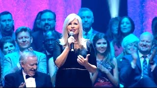 """Recorded live, """"To God Be The Glory Medley"""" is from our 45th Anniversary Reunion Concert on July, 2016, featuring classic favorites.With over 3 hours of memorable music, a bonus section featuring a special tribute to Max and Lucy, plus behind-the-scenes footage, we are very excited about the release of our 45th Anniversary Reunion Concert! We've captured that unprecedented and unforgettable night of music, praise and celebration on Blu-ray, DVD and 3-Set CDs.Relive that awe-inspiring evening with over 130 Heritage Singers on stage!The 45th Reunion Concert CD (music only) features 37 songs - including 6 medleys.The Blu-ray DVD, and the regular DVD are the best we've produced! Call us: (530) 622-9369 or visit our web store: http://heritagesingers.com/store. Our office hours are Monday -Thursday, 8:30 AM - 5 PM (PST)."""