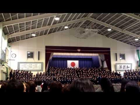 永犬丸中学校卒業式ソングその2 旅立ちの日に