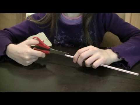 Schwebender Ball - Experiment für Kinder
