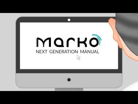 MARKO, the next generation manual