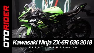 5. Kawasaki Ninja ZX-6R 636 2018 Indonesia | OtoRider | First Impression
