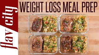 I've got some tasty recipes for weight loss that you guys are going to love. This healthy meal prep for weight loss has low calorie cauliflower rice loaded with veggies. This recipe for weight loss is huge on flavor and low on fat. Healthy recipes can actually taste good, especially this weight loss recipe. This healthy quick recipe for meal prep is perfect for people who are looking for recipes to lose weight. The pork chops are lean and perfect for healthy meal prepping and a weight loss diet. I hope you enjoy this healthy recipe to lose weight with my meal prepping. RECIPE & STORAGE INSTRUCTIONS: https://goo.gl/B77QAHSUBSCRIBE: http://goo.gl/pWpsoqMacros:426 calories per meal16 grams of fat per meal23 grams of carbs per meal46.2 grams of protein per meal8 grams of fiber per meal GET THE KITCHEN GEAR I USE:box grater for cauliflower: box grater: http://amzn.to/2uqi1MuChinese five spice: http://amzn.to/2ky6Iw1get my t-shirt: http://tidd.ly/38fe0a2amy wood cutting board: http://amzn.to/2tMkv9Zplatter for pork chops: http://amzn.to/2qhne9kglass meal prep containers: http://amzn.to/2neLNQYoil dispenser: http://amzn.to/2iTIfULNew Videos Every Friday!Follow Me On Social Media:Facebook: https://www.facebook.com/flavcityInstagram: https://www.instagram.com/flavcitySnapchat: flavcityTwitter: https://www.twitter.com/flavcityI'm out to prove that home cooks can be rock stars in the kitchen. I look forward to sharing my recipes & cooking style with you on my channel!Music from Audio Network