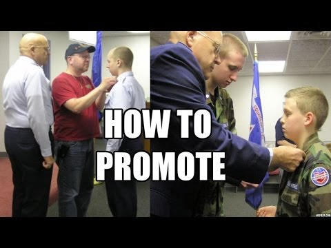 How to  Promote In Civil Air Patrol