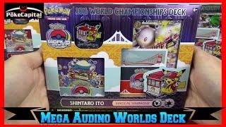 Pokemon Cards 2016 World Championships Mega Audino EX Deck Opening - Masters Champion by ThePokeCapital