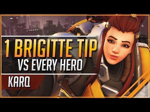 1 BRIGITTE TIP for EVERY HERO | Overwatch