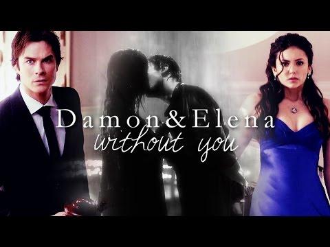 Damon & Elena | Without you (видео)