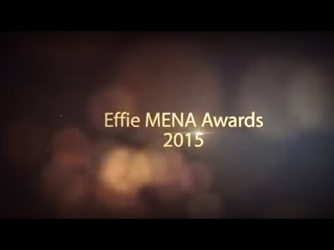 Effie MENA Awards 2015 - Gala Ceremony