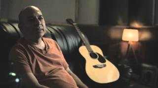 Sanjay Divecha with the D'Alberto  Palor Acoustic