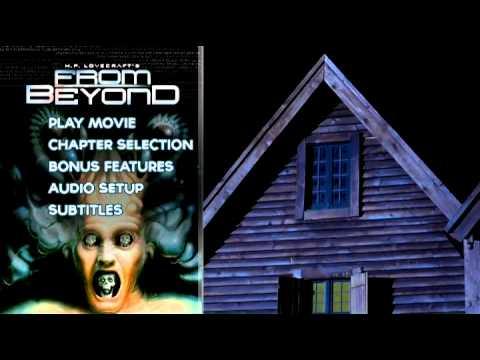 From Beyond (1986) Animated Blu-ray Menu