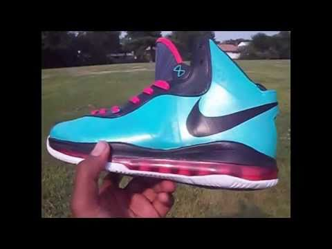 0 Nike LeBron 8 V/2 South Beach Customs