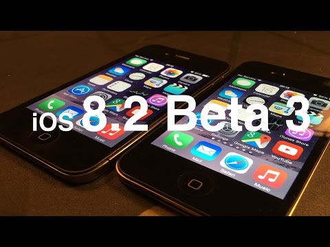 iphone 4S - Apple released iOS 8.2 Beta 3 to developers today 12-18-2014. Let's run some tests to see how it performs against the latest public release 8.1.2. The test has been done on 2 x 32GB iPhone 4S.