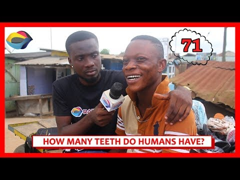 How Many TEETH Do Humans Have? | Street Quiz | Funny African Videos | Funny Videos | African Comedy