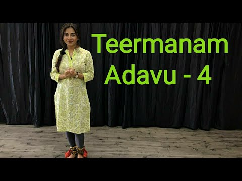Learn Bharatnatyam | Lesson No 49|Teermanam Adavu -4