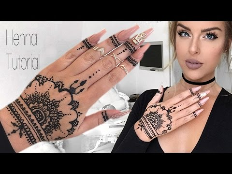 How To: Henna Tutorial