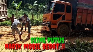 Video Sling putus narik mobil berat MP3, 3GP, MP4, WEBM, AVI, FLV Februari 2019