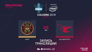 ENCE vs mousesports - ESL One Cologne 2018 - map2 - de_mirage [Anishared, SSW]